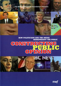 Constructing Public Opinion DVD label